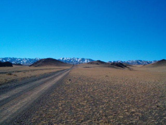 Zdjęcia: Pustynia Gobi, W drodze do Lodowej Doliny, MONGOLIA