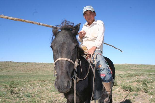 Zdjęcia: Pasterz, MONGOLIA