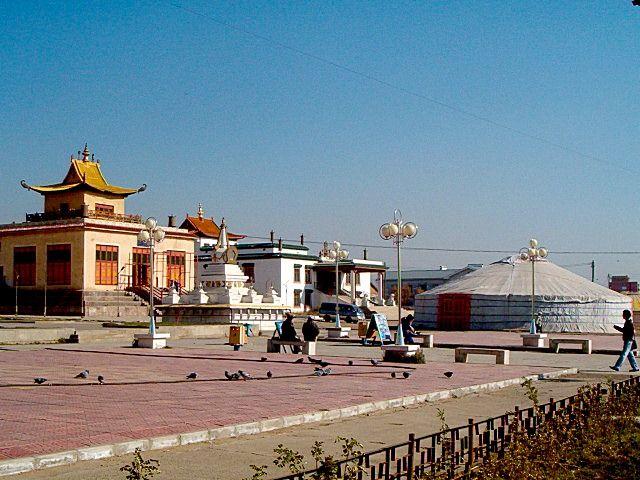 Zdjęcia: Ułan Bator, Gandan, MONGOLIA