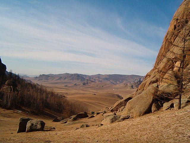 Zdj�cia: Niedaleko UB, Park Narodowy Gorki-Terelj, MONGOLIA