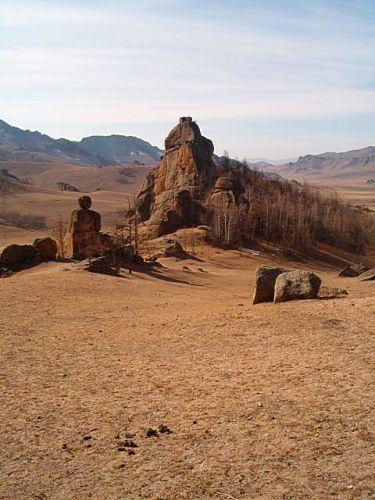 Zdjęcia: Niedaleko UB, Park Narodowy Gorki-Terelj_, MONGOLIA
