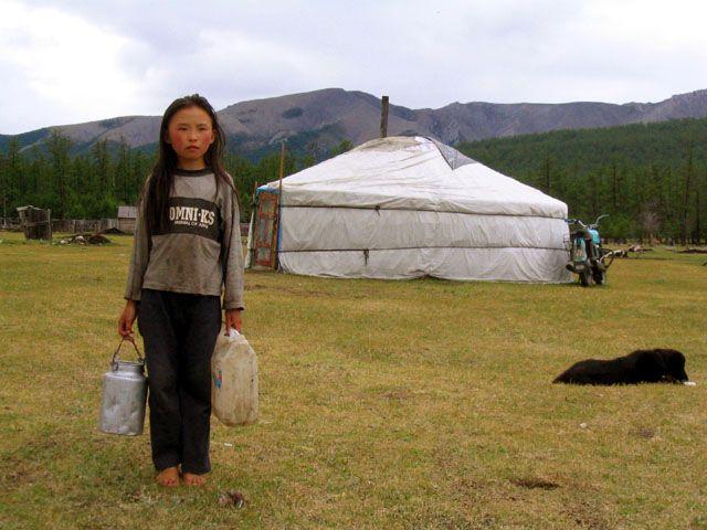 Zdjęcia: gdzies po drodze..., Chatgal, codziennnosc, MONGOLIA