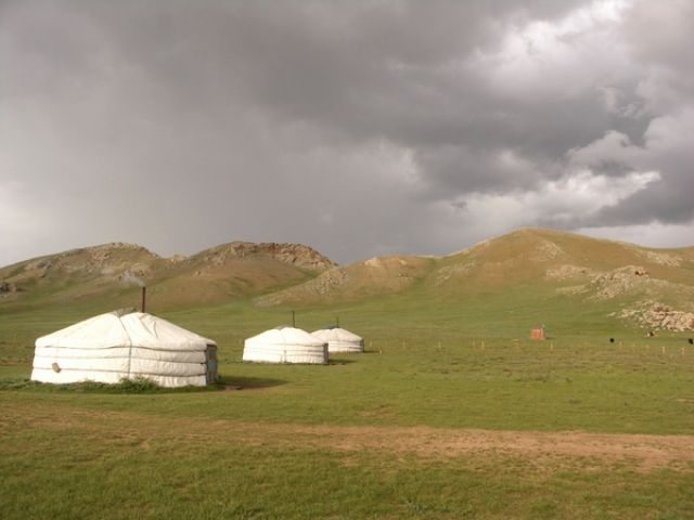 Zdjęcia: j.w., Terchijn Cagaan Nuur, Jurty, MONGOLIA