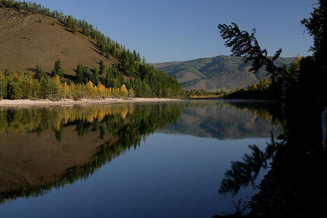 Zdjęcia: polnocna Mongolia, cisza, MONGOLIA