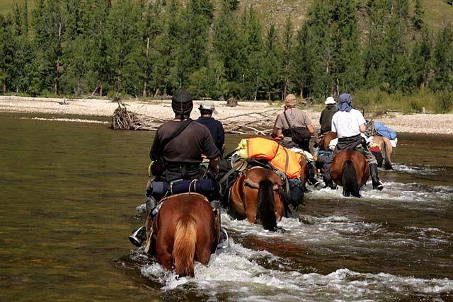 Zdjęcia: polnocna Mongolia, mongolskie przeprawy, MONGOLIA