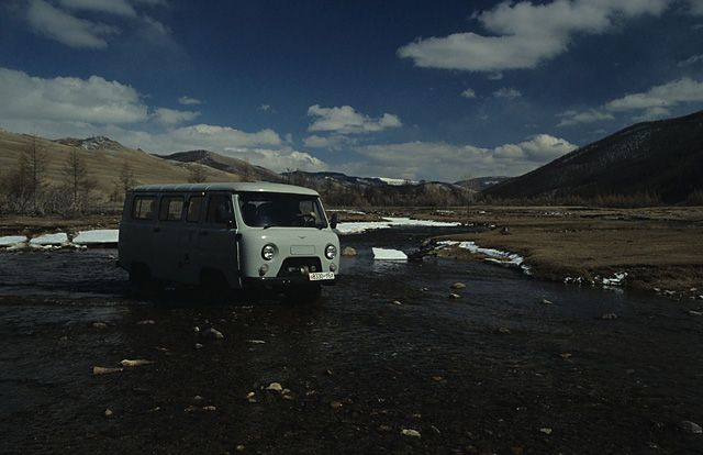 Zdj�cia: gdzies w Mongolii, drogi Mongolii, MONGOLIA
