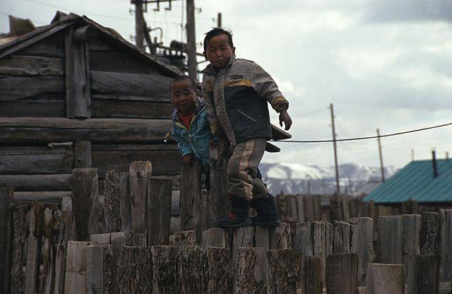 Zdjęcia: gdzies w Mongolii, dzieci Mongolii, MONGOLIA