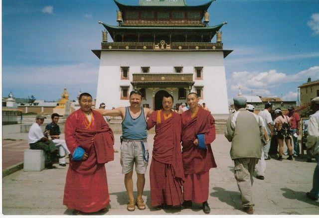 Zdjęcia: Ułan-Bator, Stolica, Przyjaciele, MONGOLIA