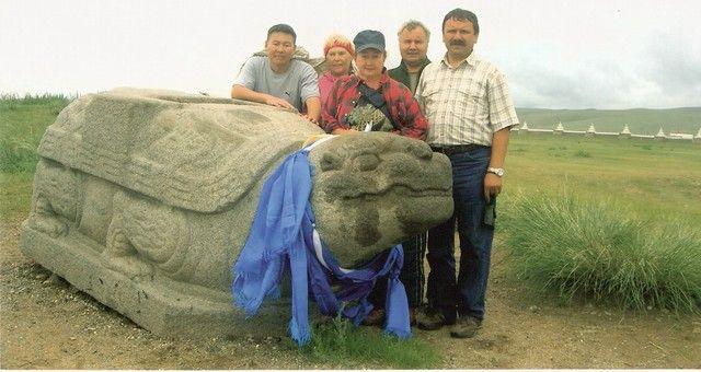 Zdjęcia: Jedwabny szlak, Mongolia, Kamienny żółów, MONGOLIA