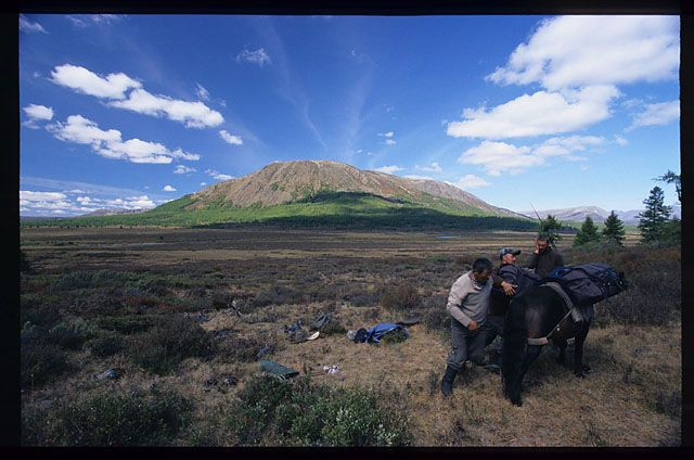 Zdjęcia: północna Mongolia, pakowanie, MONGOLIA