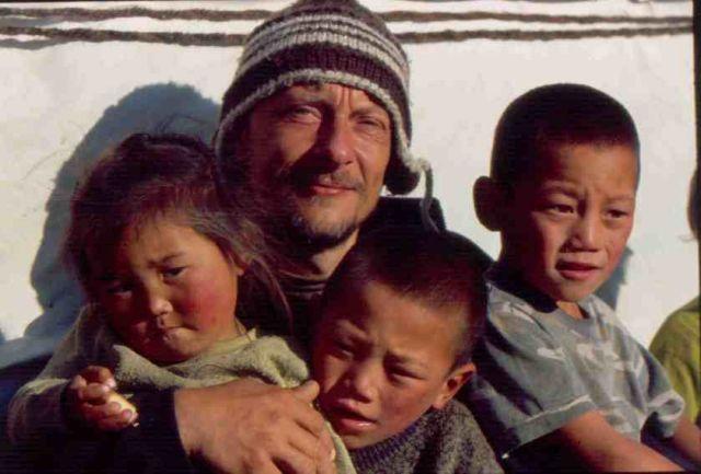 Zdjęcia: północna Mongolia, Dzieci, MONGOLIA