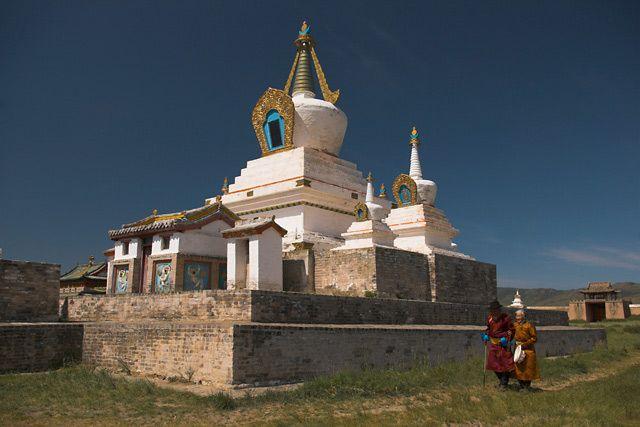 Zdjęcia: Erdene Dzuu, Charchorin, Wokół stupy, MONGOLIA