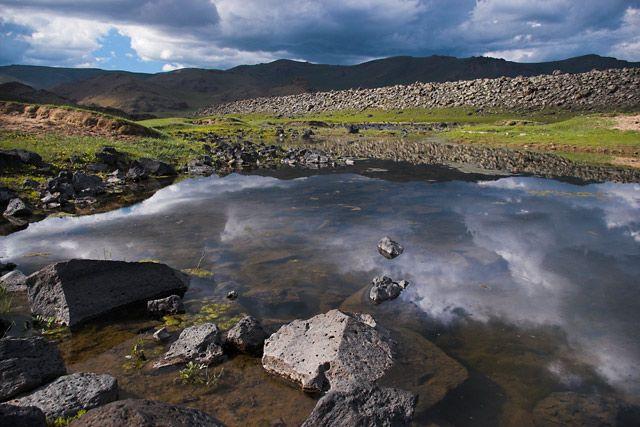 Zdjęcia: Khorgo Terkhiin Tsagaan Nuur National Park, góry Khangai , Jeziora w okolicy wulkanu Khorgo, MONGOLIA
