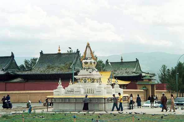Zdjęcia: Ułan Bator, Gandam, MONGOLIA
