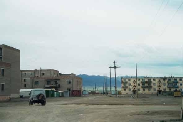 Zdjęcia: Dalandzagad, Typowe  miasto mongolskie..., MONGOLIA