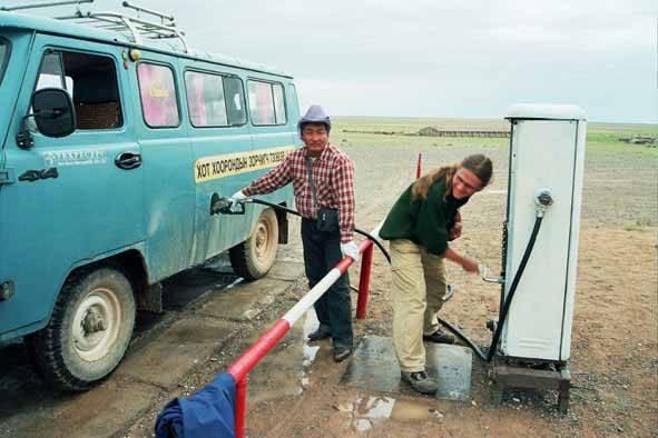 Zdj�cia: Dalandzagad, 30 lat temu..., MONGOLIA