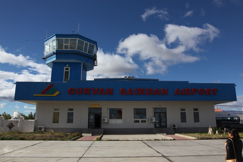 Zdjęcia:  Gurvan Saikhan, Dalanzadgad, Port lotniczy, MONGOLIA