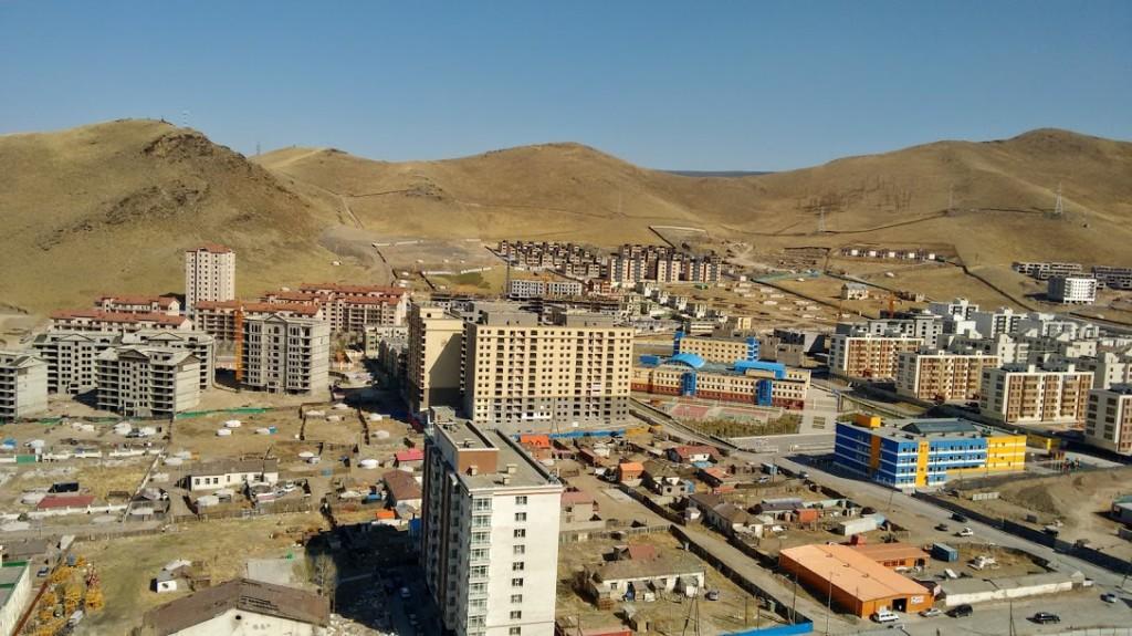 Zdjęcia: Ulan Bator, Panorama Ulan Bator, MONGOLIA