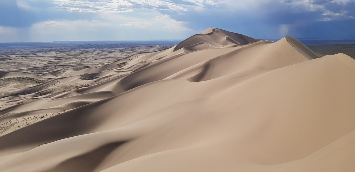 Zdjęcia: Pustynia Gobi, Poludnie, Po wspinaczce, MONGOLIA