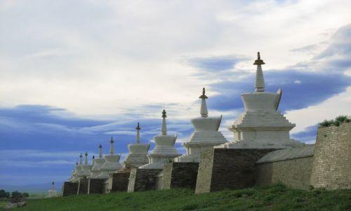MONGOLIA / - / Karakorum / Klasztor w Karakorum