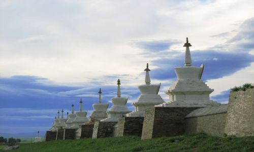 Zdjęcie MONGOLIA / - / Karakorum / Klasztor w Karakorum