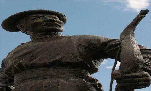 Zdjęcie MONGOLIA / - / Ulan Bator / Pomnik lucznika