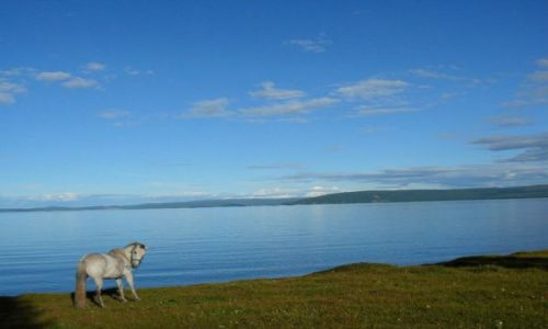 Zdjecie MONGOLIA / - / płn Mong / hovsgol lake