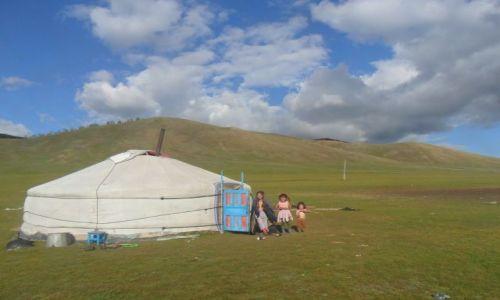 Zdjęcie MONGOLIA / - / step / powitanie