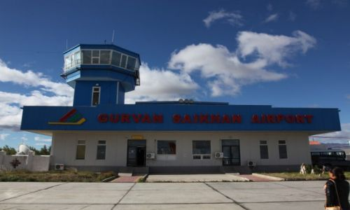 MONGOLIA / Dalanzadgad /  Gurvan Saikhan / Port lotniczy