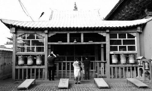 Zdjęcie MONGOLIA / Ułan Bator / Klasztor Gandan / Świątynia