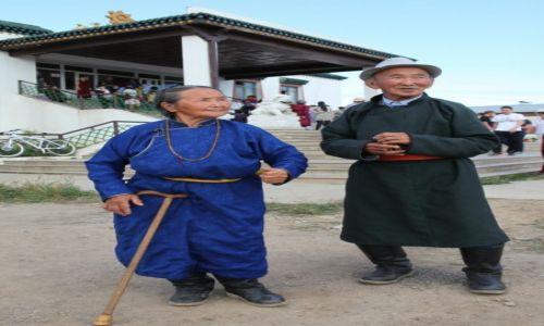 Zdjęcie MONGOLIA / Ułan Bator / Klasztor Gandan / Powrót ze świątyni