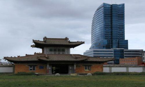 Zdjęcie MONGOLIA / Ułan Bator / Centrum miasta / Tradycja i nowoczesność