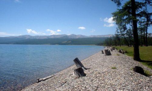 Zdjecie MONGOLIA / brak / Jezioro Chubsugul / czyste Chubsugul