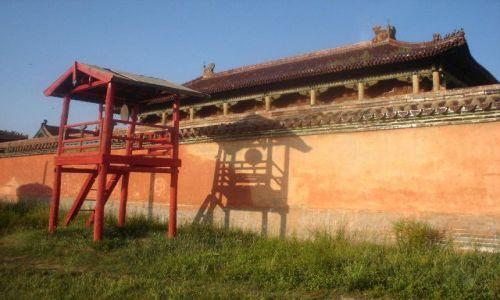 Zdjęcie MONGOLIA / brak / północna MOngolia / światło słoneczne na lamajskiej świątyni