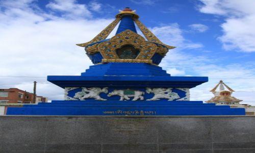 Zdjęcie MONGOLIA / Ułan Bator / Gandan / Stupa