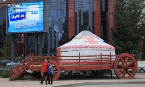 Zdjęcie MONGOLIA / Ułan Bator / Centrum miasta / Kawiarenka