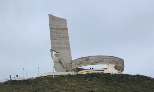 Zdjęcie MONGOLIA / Ułan Bator / Wzgórze Dzajsan / Pomnik wdzięczności dla Armii Czerwonej
