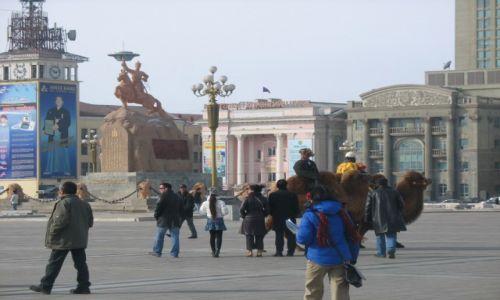 Zdjecie MONGOLIA / Ułan Bator / Plac Suche Batora / Święto tysiąca wielbładów