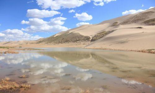 Zdjęcie MONGOLIA / Dalanzadgad / Pustynia Gobi / Zwierciadło
