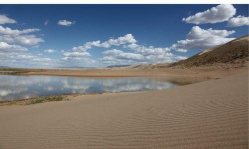 Zdjecie MONGOLIA / Dalanzadgad / Gobi / W lustrze wody