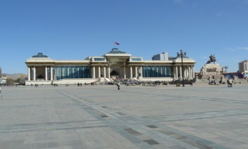 Zdjęcie MONGOLIA / - / Ulan Bator / Plac Suche Batora