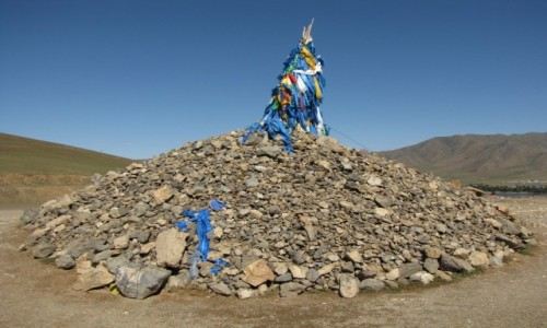 Zdjecie MONGOLIA / wschodnia Mongolia /   / Ovoo