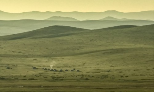 Zdjecie MONGOLIA / płn. Mongolia / płn.Mongolia / Zanim wstanie nowy dzień....