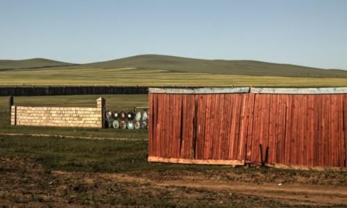 Zdjęcie MONGOLIA / płn. Mongolia / płn.Mongolia / Wtórne wykorzystanie surowców...