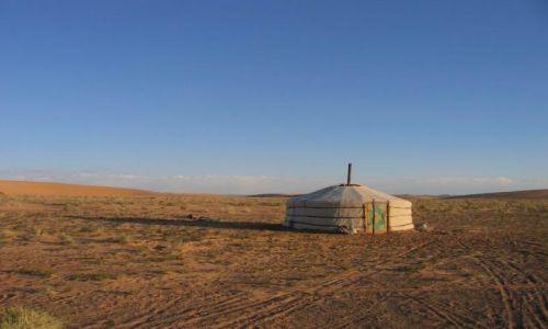 Zdjęcie MONGOLIA / pustynia Gobi / Mongolia / Mongolska willa