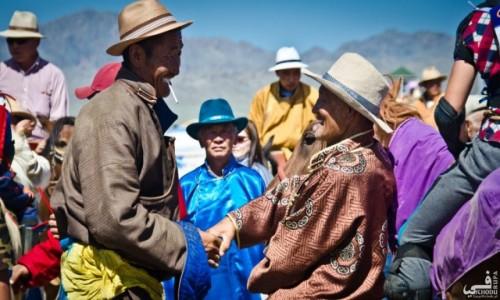 Zdjecie MONGOLIA / - / Festiwal Naadam / Spotkanie po la