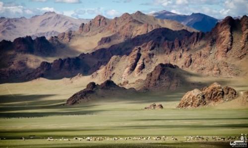 Zdjecie MONGOLIA / Ałtaj mongolski / Okolice Olgij / Mongolskie przestrzenie