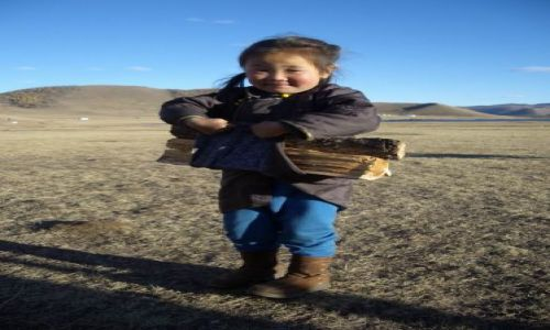 Zdjecie MONGOLIA / Pustynia Gobi / Mongolia / twarze Mongoli