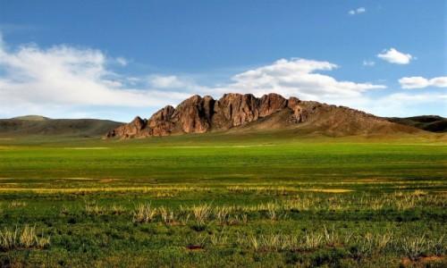Zdjecie MONGOLIA / Prowincja DundGobi / gdzieś w stepie / Mongolski step