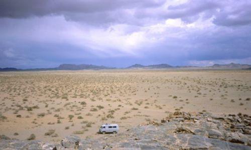 Zdjęcie MONGOLIA / zachodnia Mongolia / Mongolia / burza nad Mongol Els